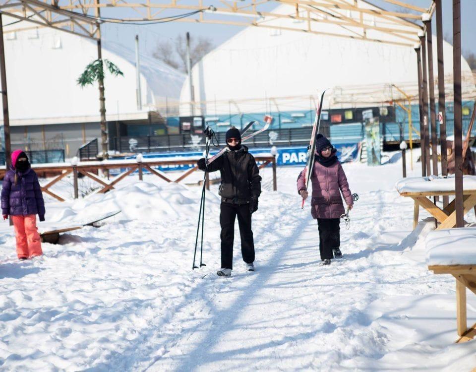 беговые лыжи прокат лыж