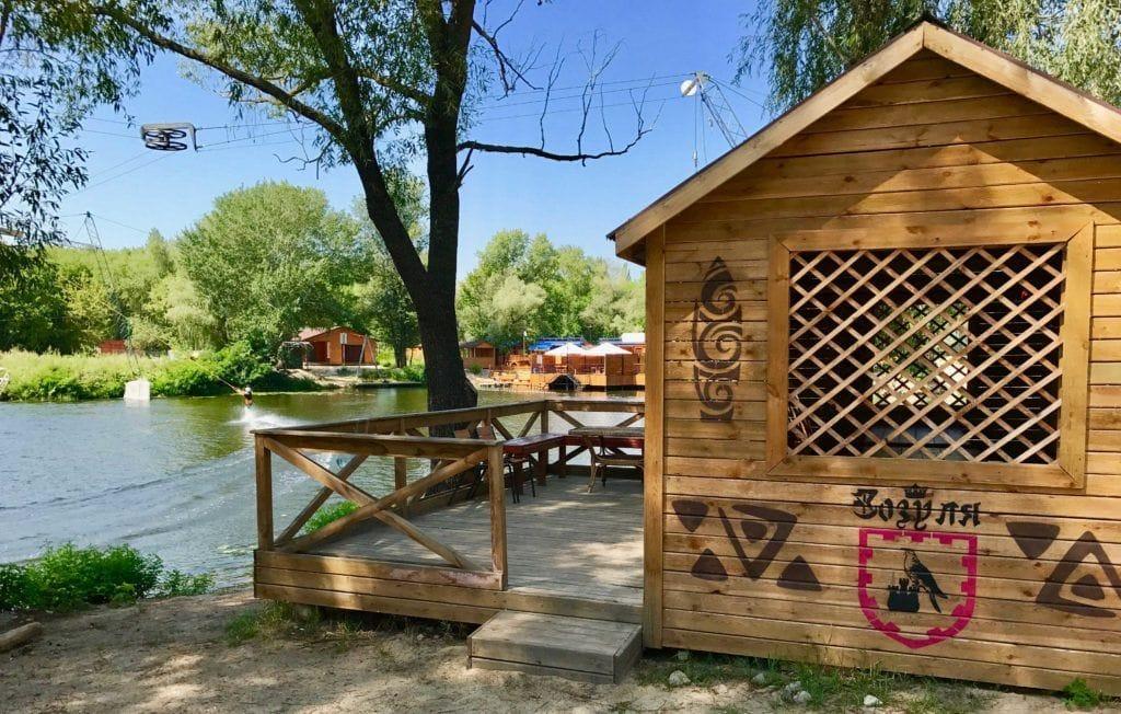 гриль-беседка-зозуля аренда киев xpark парк Дружбы народов