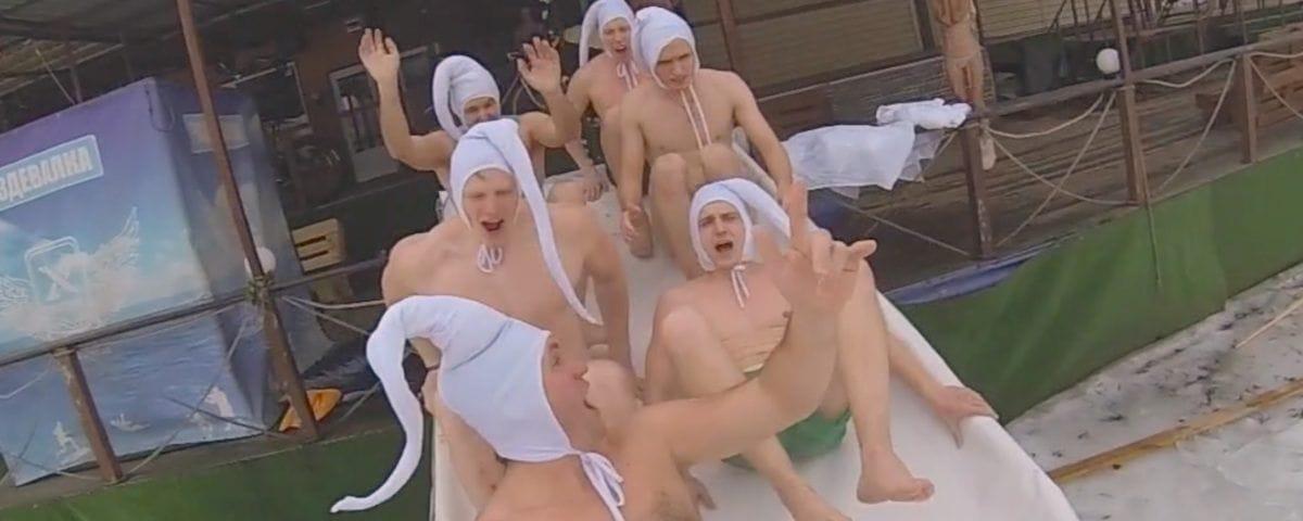 Xpark, экстримпарк, Киев, Украина. Зима. зимние развлечения, баня, сауна, баня с веником, попариться в сауне, моржи, пингвины, чаны, баня в чане, беговые лыжи, дрифт на льду, барбекю,