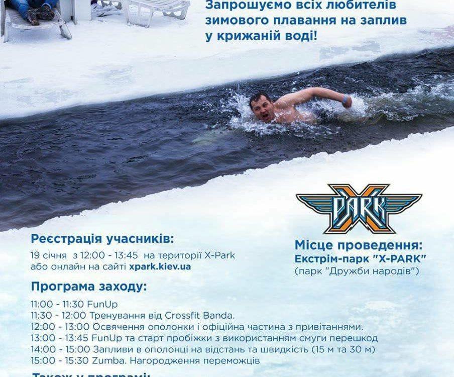 моржифест моржы моржи фестиваль крещение 2018